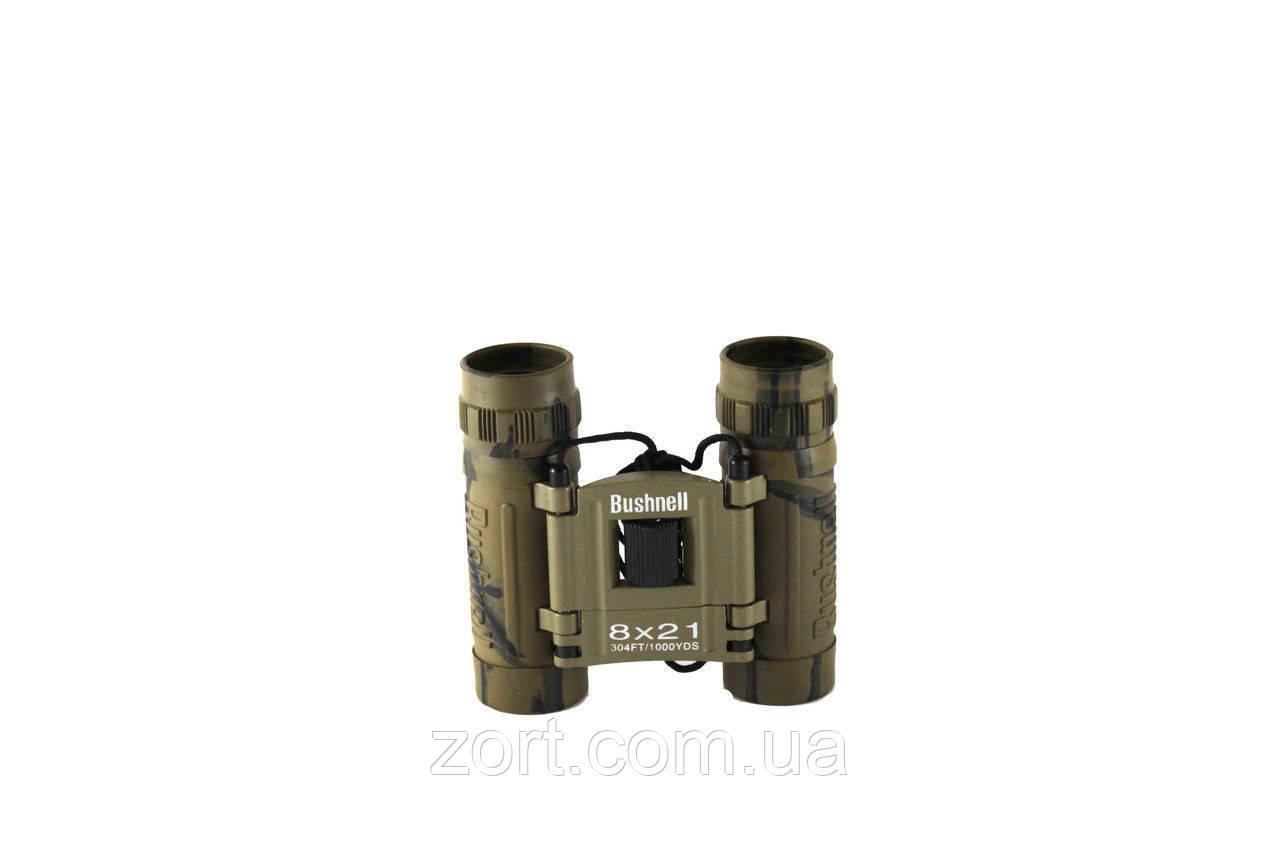 Бинокль Bushnell 8x21 Camo