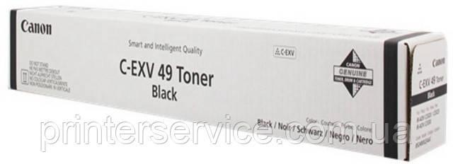 toner C-EXV49bk для Canon ir C3325i (8524B002)