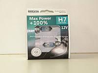 Галогеновая лампа H7 12V 55W (+100%) комплект 2шт. на Мерседес Спринтер 2000-2006 BREVIA (Корея) 12070MPS