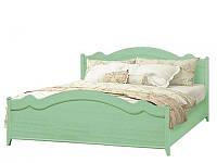 Кровать 2-сп Селина ольха зеленая (Світ Меблів TM)