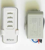 Дистанционный выключатель света 2 канала с задержкой 1000W 30M Feron
