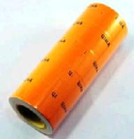 Ценник большой оранжевый светлый 5рол