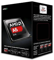 Процессор AMD (FM2) A6-6400K, Box, 2x3,9 GHz (Turbo Boost 4,1 GHz), Radeon HD 8470D (800 MHz), L2 1Mb, Richland, 32 nm, TDP 65W (AD640KOKHLBOX),