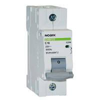 Автоматический выключатель Noark, Чехия, MCB Ex9BN 6kA 1P C16 (100098)