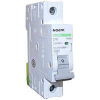 Автоматический выключатель Noark, Чехия, MCB Ex9BN 6kA 1P C10 (100096)