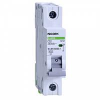 Автоматический выключатель Noark, Чехия, MCB Ex9BN 6kA 1P C32