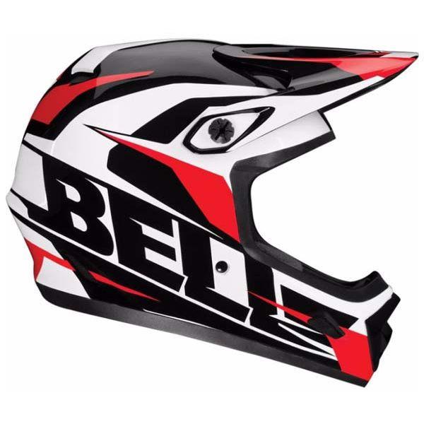 Велошлем Bell Transfer 9 чёрный/белый/красный Element (GT) M (55-57)