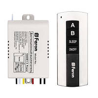 Дистанционный выключатель света 2 канала 1000W 30M Feron