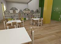 """Игровая комната для средней возрастной группы. Коллекция """"Амстердам"""""""