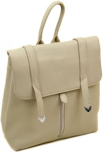 Женский чудесный рюкзак из искусственной кожи 12 л. 06-1 16201 khaki, хаки