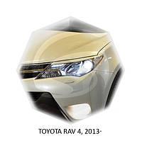 Реснички на фары Toyota RAV 4, 2013+ г.в. Тойота Рав 4