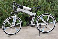 Электровелосипед BMW X6 Electric Rear Drive Бело-чёрный