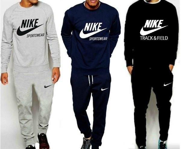 1e1506f916dd Спортивный костюм мужской Nike (серый, синий, черный) - Sport Active People  -