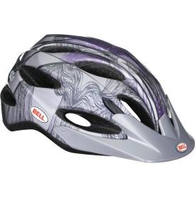 Велошлем женский Bell Strut титановый/фиолетовый Dunes, Uni (50-57) (GT)