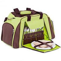 Набор сумка для пикника кемпинга на 4 персоны