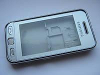 Корпус для Samsung s5230w wi-fi серебро class AAA