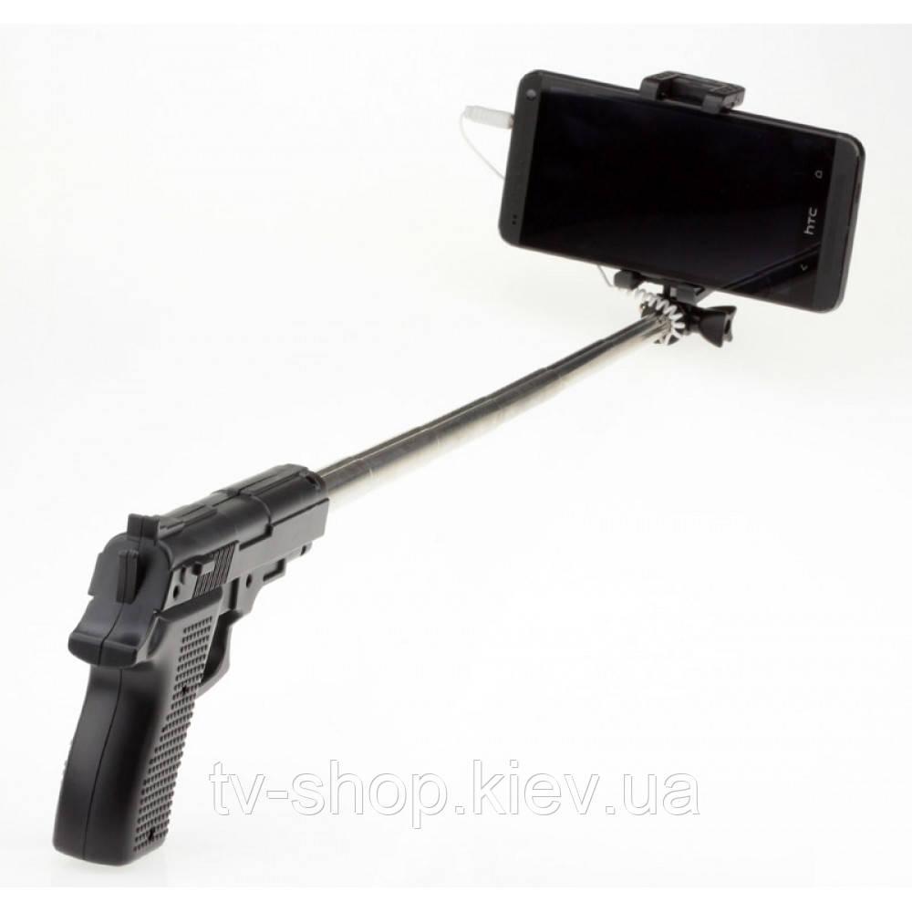 Монопод - палка для селфи Пистолет