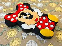 Резиновый 3D чехол для Samsung Galaxy S Duos S7562 Minnie Mouse