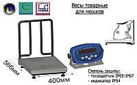 Товарные весы для взвешивания мешков Аксис BDU150-0405-М-Б, до 150 кг,  размер площадки 400х566 мм