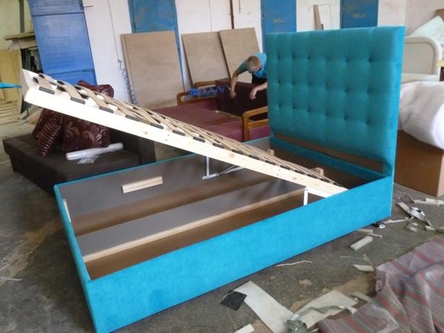 Кровать Премьера без матраса с ящиком для белья