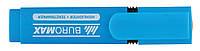 Текст-маркер флуоресцентный Jobmax синий