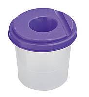 Стакан-непроливайка фиолетовый