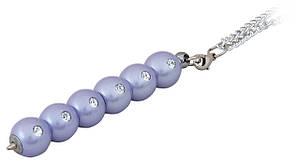 Ручка кулькова Secret з кристалами фіолетовий в подарунковому футлярі