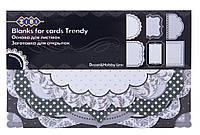 Заготовка для открыток ''Trendy'' 10.2x15.3см