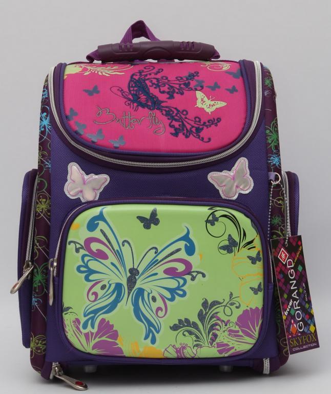 3827f30e89dc Красивый школьный рюкзак для девочки. Рюкзак с ортопедической спинкой.  Отличное качество. Купить.