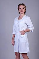 Медицинский халат батист ХелсЛайф 40-66р