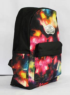 """Молодіжний рюкзак з оригінальним принтом """"космос"""", фото 2"""