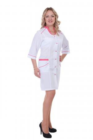 Медицинский халат женский батист ХелсЛайф