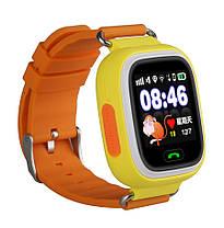 """Детские умные смарт часы дитячий годинник Q90 Q100 Smart Baby Watch с GPS и кнопкой SOS 1.22"""" 5 цветов, фото 3"""