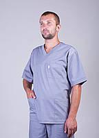 Медицинский костюм мужской батист ХелсЛайф