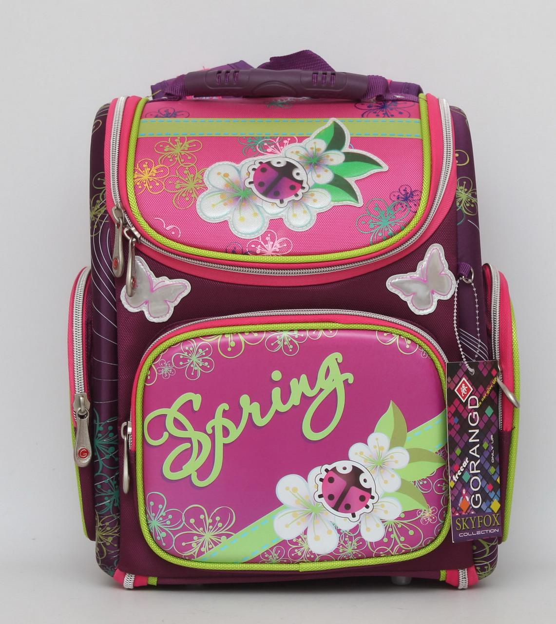 1e23be211aec Удобный школьный рюкзак. Рюкзак с ортопедической спинкой. Рюкзак для  девочки. Новый дизайн.