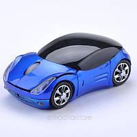 Беспроводная мышка-автомобиль FERRARI синий цвет
