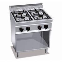 Плита газовая Bertos G7F4ME без духовки