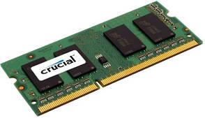 Оперативная память Crucial 8 GB SO-DIMM DDR3 1600 MHz (CT102464BF160B)