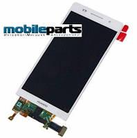 Оригинальный Дисплей (Модуль) + Сенсор (Тачскрин) для Huawei Ascend P6 (Белый)
