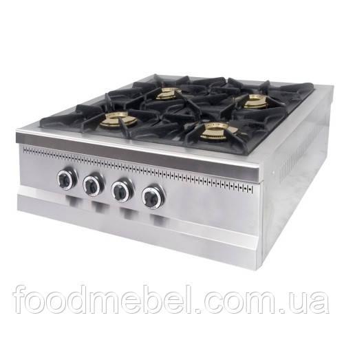 Газовая плита 4-х конфорочная Pimak МО15-4N настольная