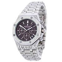Часы Audemars Piguet Royal Oak AA Silver-Brown