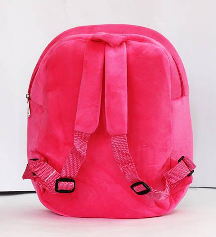 Малиновый рюкзачок для девочки Принцесса., фото 2