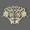 Резной декор центральный 220х150