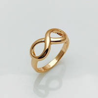 Кольцо восьмерка,  размер 16, 20