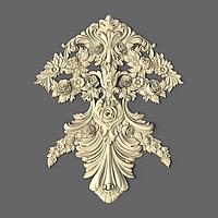 Центральный  декор из дерева 200х250