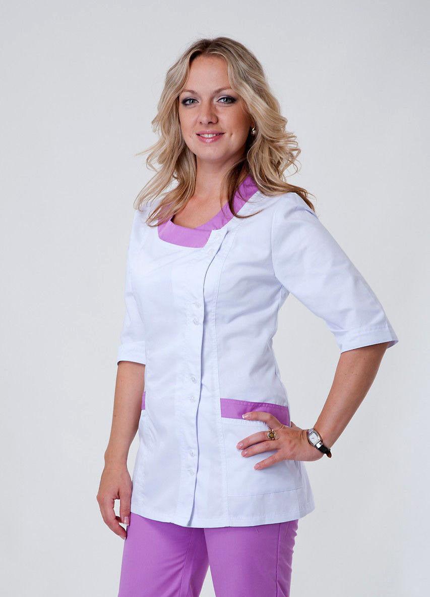 Медицинский костюм женский коттон ХелсЛайф 42-56р
