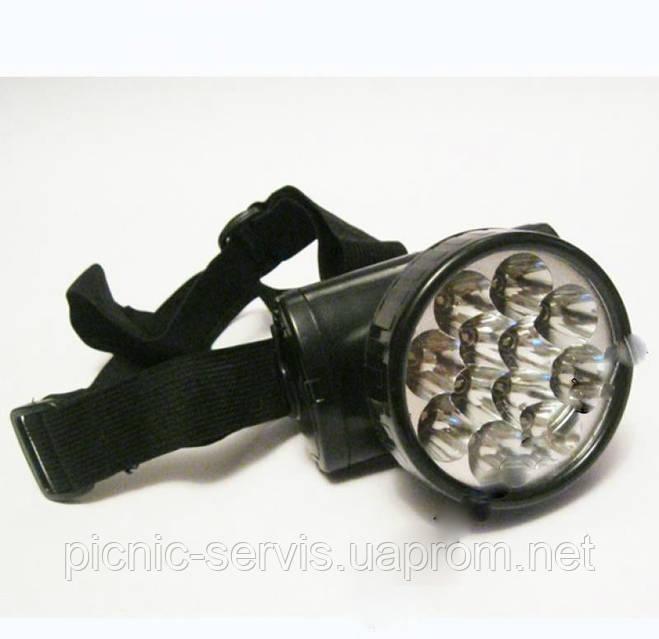Налобный фонарь светодиодный led для рыбалки аккумуляторный, фото 1