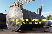 Резервуар для нефтепродуктов ГСМ 50 м.куб.
