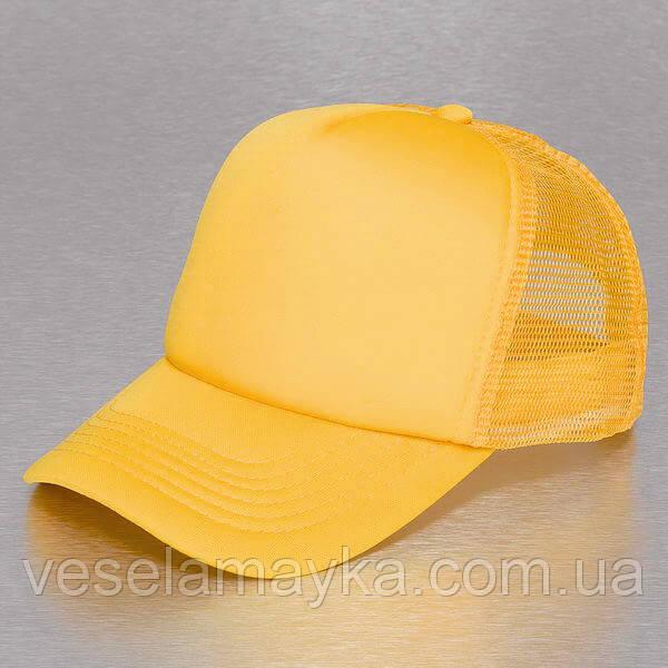 Жовта кепка тракер