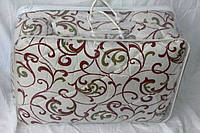 Тепле двоспальну ковдру з овечої вовни Лері Макс - вензелі